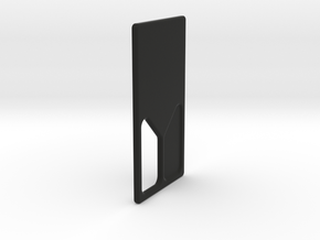 SQRD20 Door M in Black Natural Versatile Plastic