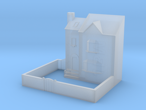 (1:450) Low Relief Row House in Smooth Fine Detail Plastic