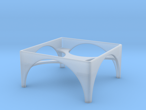 3x3 Stand in Smooth Fine Detail Plastic