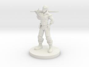 Hexblade Warlock in White Strong & Flexible