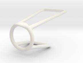 Ring for Shevone 6_5 in White Premium Strong & Flexible