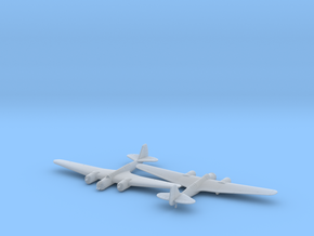 Tupolev SB 2 M-100 in Smooth Fine Detail Plastic: 6mm