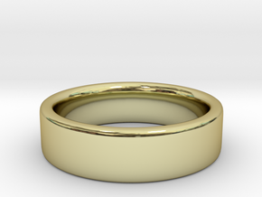 Basic Ring US 4 3/4 in 18K Gold Plated