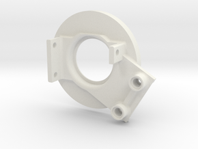 rampage_encoder_mount_left_back in White Natural Versatile Plastic