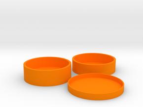 Okito Boston Set USA Dollar in Orange Processed Versatile Plastic