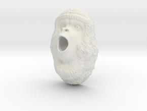 howler monkey in White Natural Versatile Plastic