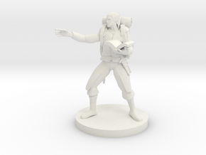 Elf Wizard 5 in White Natural Versatile Plastic
