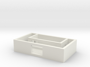 Minecraft desk toy in White Natural Versatile Plastic