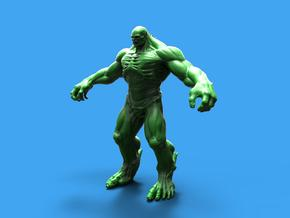 Abomination marvel 75mm in Smooth Fine Detail Plastic
