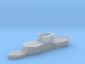 1/144 U-Boot U-441 Conning Tower in Smooth Fine Detail Plastic