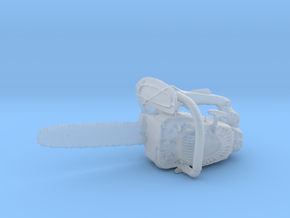 Printle Thing Chainsaw - 1/24 in Smooth Fine Detail Plastic