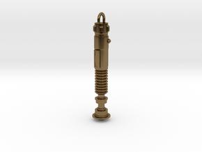 Light Saber Pendant in Polished Bronze
