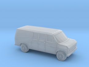 1/120 1X 1975-91 Ford E-Series Delivery Van in Smooth Fine Detail Plastic