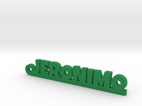 JERONIMO_keychain_Lucky in Green Processed Versatile Plastic
