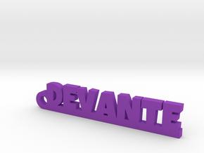 DEVANTE_keychain_Lucky in Purple Processed Versatile Plastic