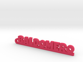BALDOMERO_keychain_Lucky in Pink Processed Versatile Plastic