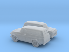 1/160 2X 1957-60 Ford Panel in Smooth Fine Detail Plastic