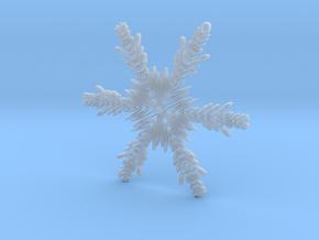 Matthew snowflake ornament in Smooth Fine Detail Plastic