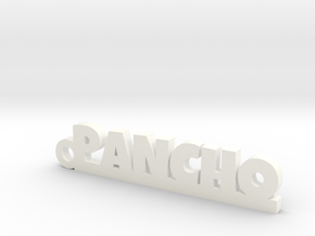 PANCHO_keychain_Lucky in Smooth Fine Detail Plastic