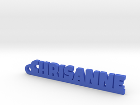 CHRISANNE_keychain_Lucky in Blue Processed Versatile Plastic