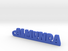 ALMUNDA_keychain_Lucky in Blue Processed Versatile Plastic