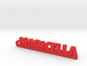 MARICELLA_keychain_Lucky in Red Processed Versatile Plastic