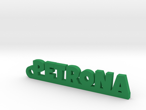 PETRONA_keychain_Lucky in Smooth Fine Detail Plastic