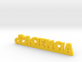 PACIENCIA_keychain_Lucky in Smooth Fine Detail Plastic