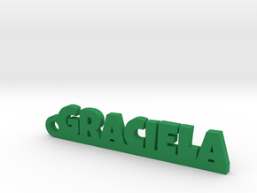 GRACIELA_keychain_Lucky in Smooth Fine Detail Plastic