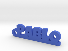 PABLO_keychain_Lucky in Smooth Fine Detail Plastic