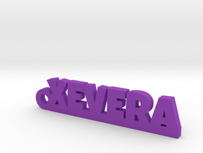 XEVERA_keychain_Lucky in 18k Gold Plated Brass