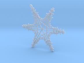 Sophia snowflake ornament in Smooth Fine Detail Plastic