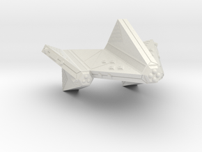 3125 Scale Tholian Dreadnought-Carrier SRZ in White Natural Versatile Plastic
