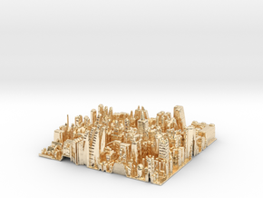 City Slice in 14K Yellow Gold
