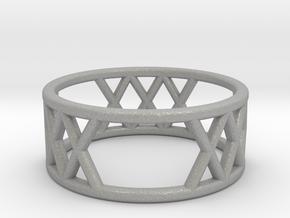 XXX Ring Size-6 in Aluminum
