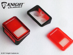 AJ10019 Rear lights JK in Smooth Fine Detail Plastic