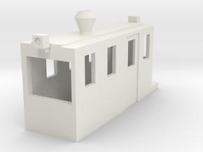 HOn30 Dunkirk for KATO 11-106 in White Natural Versatile Plastic: 1:87 - HO
