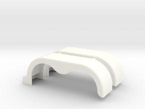 1-25 Fender Skirts 2 in White Processed Versatile Plastic