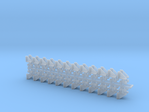DMIR Bracket-48 Count-HO Scale in Smooth Fine Detail Plastic