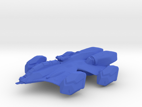 Heavy Support Ship in Blue Processed Versatile Plastic