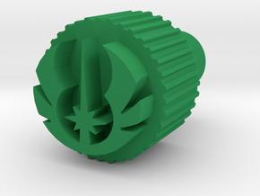 Kill Key Jedi small in Green Processed Versatile Plastic