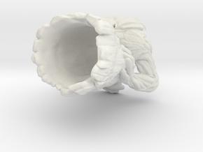Groot flower pot in White Strong & Flexible