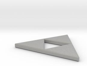 Triforce Necklace in Aluminum