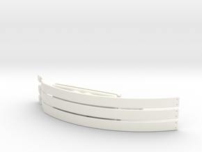 Choker in White Processed Versatile Plastic
