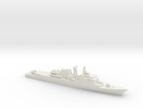 Niteroi-class frigate, 1/2400 in White Natural Versatile Plastic