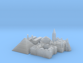 Victory Cities #1: Europe (Smaller) in Smooth Fine Detail Plastic