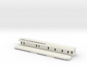 DFo3 - Swedish passenger wagon in White Natural Versatile Plastic