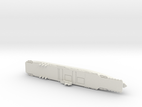 Ranger 1/1800 Without Raised Deck Details in White Premium Versatile Plastic