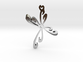 Heart  in Polished Silver