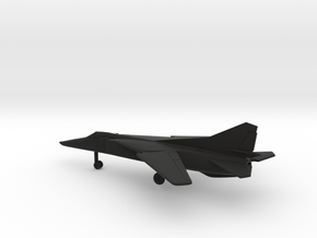 MiG-23BN Flogger-H in Black Natural Versatile Plastic: 1:200